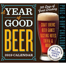 A YEAR OF GOOD BEER PAGE-A-DAY CALENDAR 2019