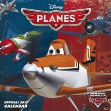 OFFICIAL DISNEY`S PLANES 2014 CALENDAR. /стенен