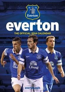 OFFICIAL EVERTON 2014 CALENDAR. /стенен календар