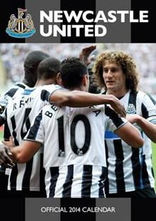 OFFICIAL NEWCASTLE 2014 CALENDAR. /стенен календ