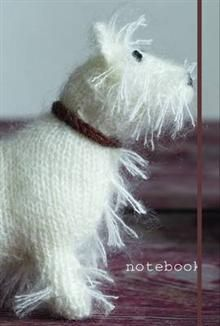 WHITE TERRIER NOTEBOOK