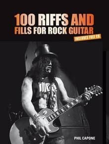 100 RIFFS AND FILLS FOR ROCK GUITAR