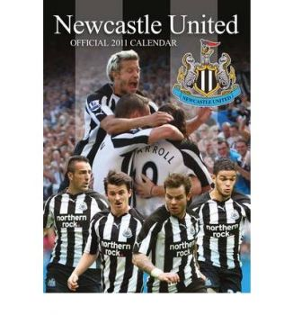 OFFICIAL NEWCASTLE FC 2011 CALENDAR. /стенен кал
