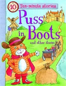 """PUSS IN BOOTS AND OTHER STORIES. """"Ten-Minute Sto"""