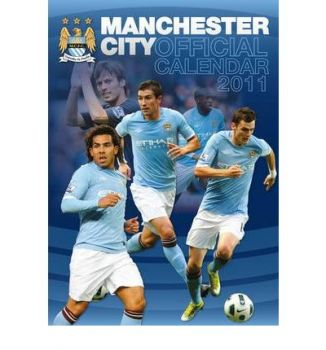 OFFICIAL MANCHESTER CITY FC 2011 CALENDAR. /стен