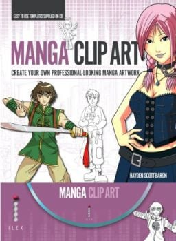 MANGA CLIP ART: Create Your Own Professional-Loo