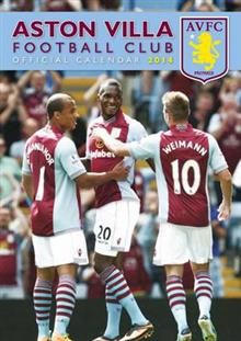 OFFICIAL ASTON VILLA 2014 CALENDAR. /стенен кале