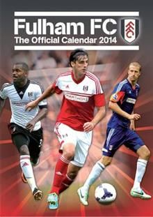 OFFICIAL FULHAM 2014 CALENDAR. /стенен календар:
