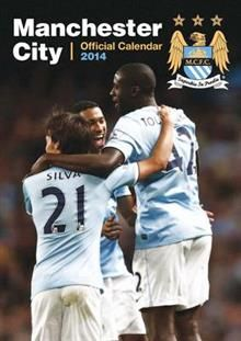 OFFICIAL MANCHESTER CITY 2014 CALENDAR. /стенен