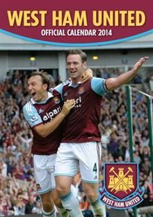 OFFICIAL WEST HAM UNITED 2014 CALENDAR. /стенен