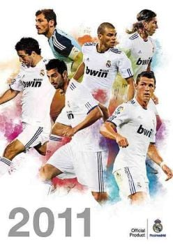 OFFICIAL REAL MADRID FC 2011 CALENDAR. /стенен к