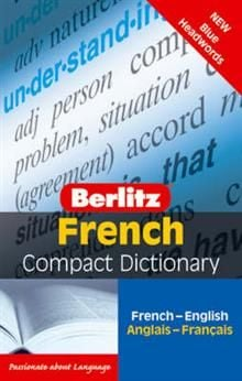 FRENCH: Berlitz Compact Dictionary: Blue Headwor
