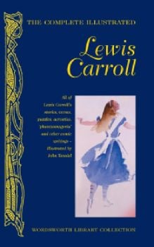"COMPLETE ILLUSTRATED LEWIS CARROLL. ""W-th Librar"