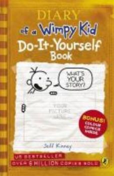 DO-IT-YOURSELF BOOK: Diary Of A Wimpy Kid. (Jeff