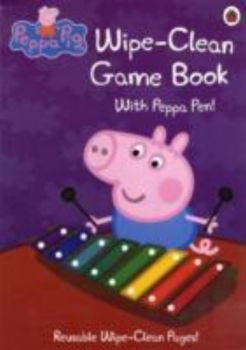 WIPE-CLEAN GAME BOOK: Peppa Pig.
