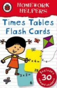 "TIMES TABLE FLASH CARDS. ""Homework Helpers"", /La"