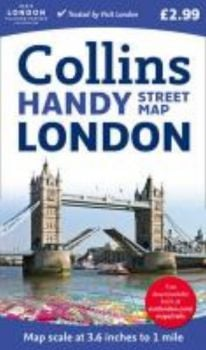 COLLINS HANDY STREET MAP LONDON.