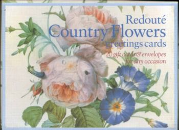 REDOUTE COUNTRY FLOWERS: 20 gift cards and envel