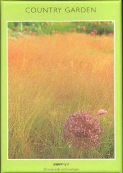 COUNTRY GARDEN: 20 notecards and envelopes.