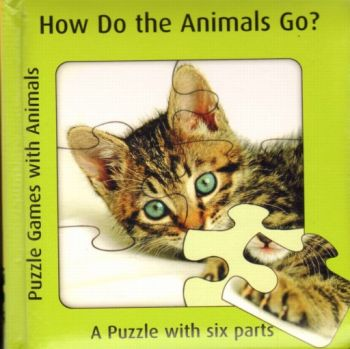 HOW DO THE ANIMALS GO?: Puzzle Games with Animal
