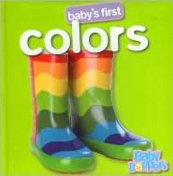 """BABY`S FIRST COLOURS. HB, """"Hinkler Books"""""""