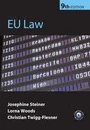 EU LAW. 9th ed. (J.Steiner, L.Woods), PB