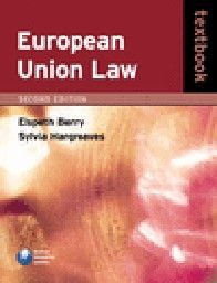 EUROPEAN UNION LAW: Textbook. 2nd ed. (E.Berry,