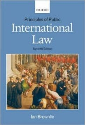 PRINCIPLES OF PUBLIC INTERNATIONAL LAW. (I.Brown