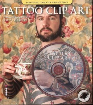 TATTOO CLIP ART. + CD, (Danny Fuller)