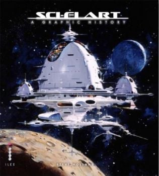 SCI-FI ART: A Graphic History. (Steve Holland, A