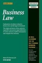 """BUSINESS LAW. 5th ed. """"Business Review Books"""","""