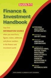 "FINANCE&INVESTMENT HANDBOOK. 7th ed. ""BARRON`S"""