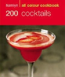 """200 COCKTAILS. All colour cookbook. """"LBS"""""""