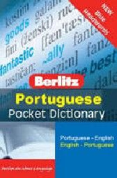 PORTUGUESE Berlitz Pocket Dictionary: Blue Headw