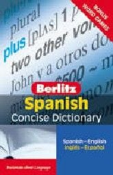 SPANISH Berlitz Concise Dictionary: Blue headwor