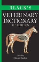 BLACK`S VETERINARY DICTIONARY. 21st ed. /HB/
