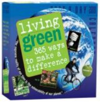 "LIVING GREEN 2010. (Calendar/Page A Day) ""Workma"