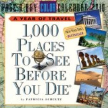 1000 PLACES TO SEE BEFORE YOU DIE 2010. (Calenda