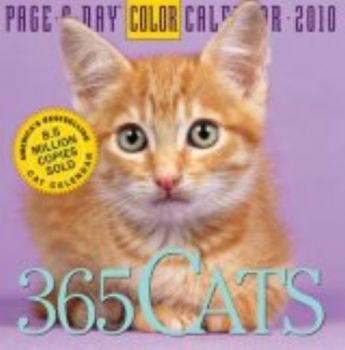 """365 CATS 2010. (Calendar/Page A Day) """"Workman"""""""