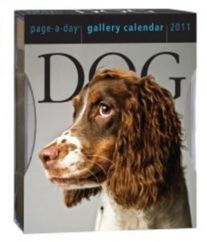 DOG 2011. (Calendar/Page A Day)