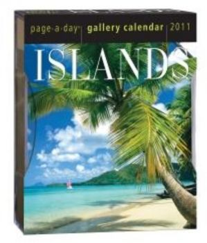 ISLANDS 2011. (Calendar/Page A Day)