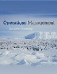 """OPERATIONS MANAGEMENT. (A.Greasly), PB, """"Wiley"""""""