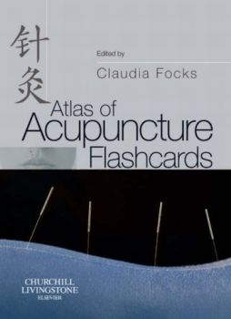 ATLAS OF ACUPUNCTURE FLASHCARDS. (Claudia Focks)