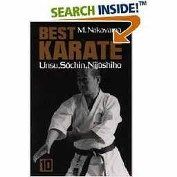 BEST KARATE: Unsu, Sochin, Nijushiho, vol. 10. (