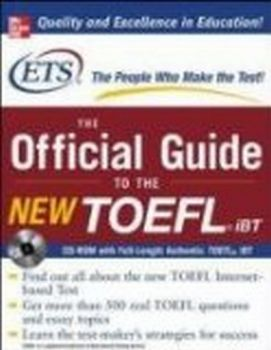 OFFICIAL GUIDE OF THE NEW TOEFL iBT_THE. with CD