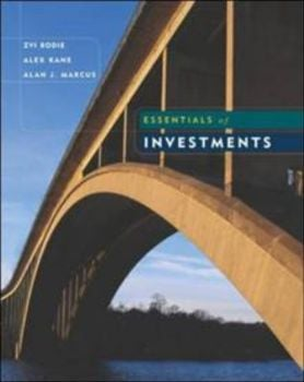 ESSENTIALS OF INVESTMENTS. 8th ed