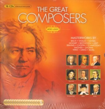 GREAT COMPOSERS_THE: 1680-1930: 16 CDs.
