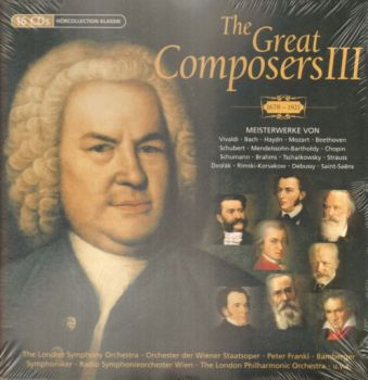 GREAT COMPOSERS III_THE: 1678-1921: 16 CDs.