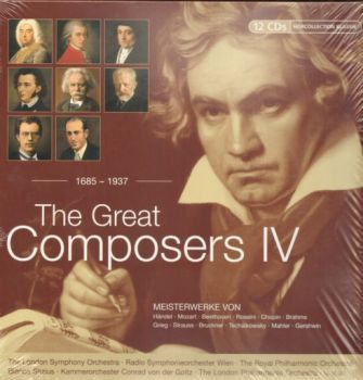 GREAT COMPOSERS IV_THE: 1685-1937: 12 CDs.