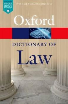 A DICTIONARY OF LAW, 8th Edition